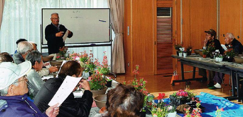 花の寄せ植え講座